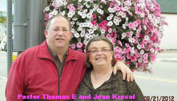 Pastor Thomas E and Jean Kresal
