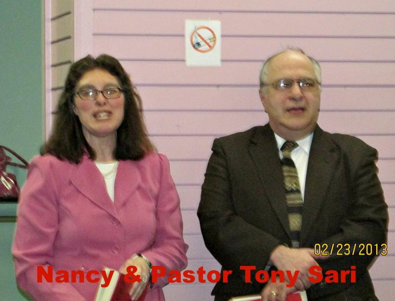 Nancy & Pastor Tony Sari