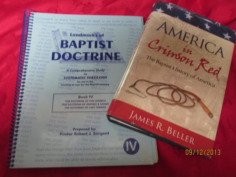 Bible Doctrine and Crimson Red